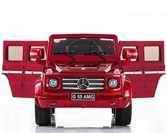 NEW HOT MODEL 4CH Remote Controlled Electric Licensed Mercedes Benz Ride-On Car Mercedes-benz G55 / with license design MP3 INPUT WORKING DOORS