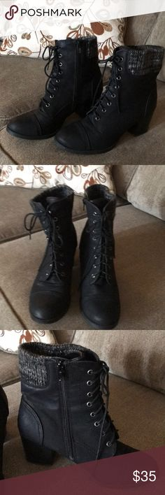 Boots Nice madden girl boots in size 9 Madden Girl Shoes Ankle Boots & Booties