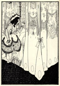 The Morning Dream - Aubrey Beardsley