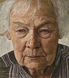 Margaret at ninety. 2009     http://mydesignstories.com/the-paintings-of-antony-williams/