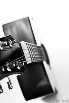 Acoustic Guitar Photography Let's Play 8x12 Photo Print by thebqe