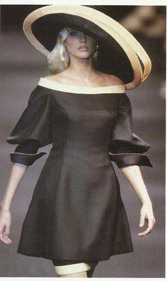 Nadja Avermann, Christian Dior Haute Couture