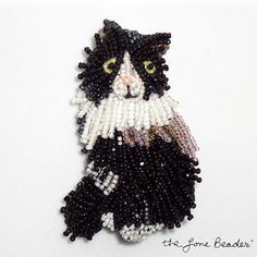 The Lone Beader's Bead Embroidered Animal Jewelry - The Beading Gem's Journal