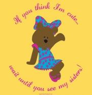 Adorable Alpha Xi Delta shirt with mascot! If you think she's cute, you should see her sisters! :)