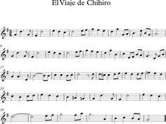 El Viaje de Chihiro. Banda Sonora Musical, Sheet Music, Indie, Bts, Entertainment, Food, Flute, Snuggles, Frases