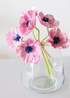 Pink Wedding Flowers Pink Real Touch Poppy Bundle with Navy Center - Tall x Blooms Faux Flowers, Dried Flowers, Paper Flowers, White Wedding Flowers, Flower Bouquet Wedding, Amazing Flowers, Beautiful Flowers, Artificial Flowers And Plants, Flowers Today