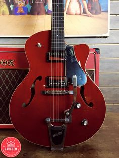Godin Semi Acústica 5TH Trans Red