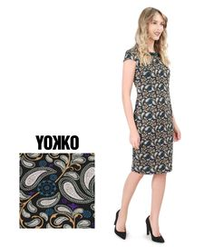 #yokko #daytimedresses #winter19 #qualityfashion #classylook Short Sleeve Dresses, Dresses With Sleeves, Daytime Dresses, Your Perfect, How To Look Classy, Flower Prints, Dresses For Work, Floral, Collection
