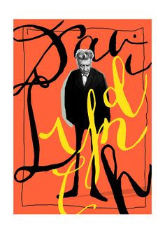 Famous directors and their typographic collage