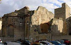 Arles: thermes romains de Constantin. Bouches-du-Rhône