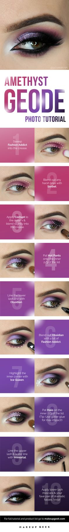 Adorn your eyes with this gem of a look!