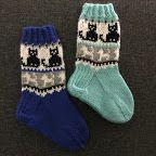 Rakkautta ja piikkilankaa -sukat Crochet Socks, Knitting Socks, Knitting For Kids, Baby Knitting Patterns, Kids Socks, Cool Socks, Kids And Parenting, Handicraft, Barn