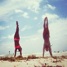 this could be us but we cant do a handstand