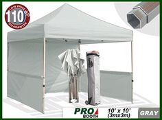 Eurmax Pro Portable Booth, PRO EZ Pop Up Tent Craft Display Trade Show Portable Booth Instant Market Stall 10x15, Display Canopy, Instant Exhibition, Canopy, Tent, Eurmax Canopay, Canopy, Pop Up Canopy, Tent, Gazebo, EZ Gazebo, EZ UP, Instant Marquee, Instant Shelter, Quick Shade, Custom Canopy, Folding Tent, Folding Structure