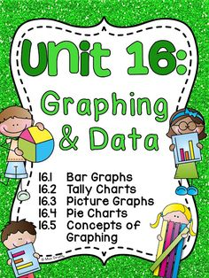 grade graphing and data analysis worksheets games and activities that are so much fun and differentiated for first grade including bar graphs, tally charts, picture graphs, pie charts, and concepts of graphing Graphing First Grade, 1st Grade Math, Grade 1, Primary Teaching, Primary Maths, Teaching Resources, Primary Music, School Resources, Classroom Resources