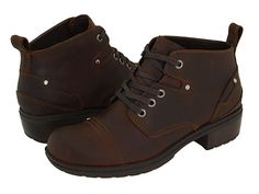 Eastland Overdrive Brown Leather - 6pm.com