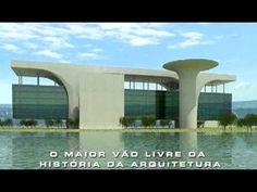 Último grande projeto de Oscar Niemeyer – O maior vão livre da história daArquitetura, Cidade Administrativa - BH, MG, Brasil.