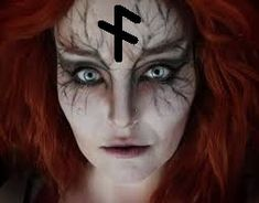 makeup artistico – Hair and beauty tips, tricks and tutorials Witch Makeup, Hair Makeup, Halloween Make Up, Halloween Face Makeup, Rubrics, Costumes, Image, Star Wars, Google Search