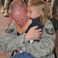 Welcome home, Daddy!!!!