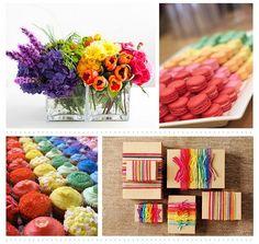 Rainbow Wedding @ Ampersand