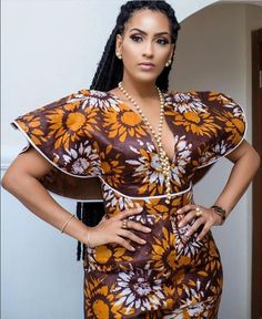 How to Rock Out In Ankara Dungarees - Sisi Couture Short African Dresses, Latest African Fashion Dresses, African Print Dresses, African Print Fashion, Africa Fashion, Ankara Fashion, African Prints, African Fabric, Short Dresses