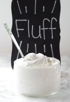 You'll love this homemade marshmallow fluff. It only takes 20 mins to make and is the perfect marshmallow cream for a fluffernutter sandwich!