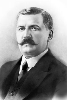 Venceslau Brás, former President of Brazil, with handlebar or imperial moustache.
