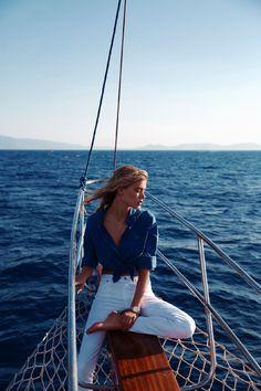joanna halpin by cihan alpgiray for cosmopolitan turkey july 2013 | visual optimism; fashion editorials, shows, campaigns & more! #boat