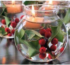 christmas table centerpieces   Christmas table centerpiece