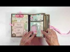 Kaisercraft Needle & Threads Envelope Mini Album - YouTube