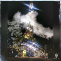 Some geothermal drilling Oil Field, Club, Travel, Viajes, Destinations, Traveling, Trips
