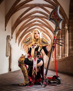 I'm still soooo addicted with Legion, so here is one of my favourite #worldofwarcraft costumes! Judgement armor ftw! Still playing my Nightelf Druid Kamui, though! What's your class and race??? :) #wow #legion #judgementarmor #blizzard #paladin #cosplay #costume #diy