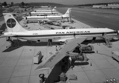 The first jet airliner Boeing 707-120