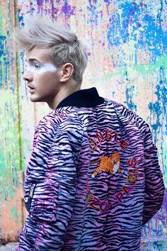 Urban Jungle (Kenzo x H&M editorial) - Eduard Enache Style Challenge, Big Fashion, Kenzo, Men Casual, Urban, Mens Tops, Collection, Casual Male Fashion