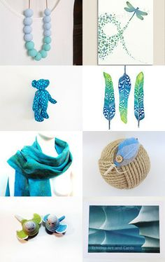 Inspired by a gentle breeze. by Lindy Whitton on Etsy--Pinned with TreasuryPin.com