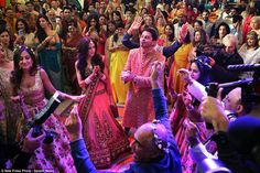 The wedding of Rohan Mehta to his new bride Roshni at a historic venue in Florence. Mr Meh...