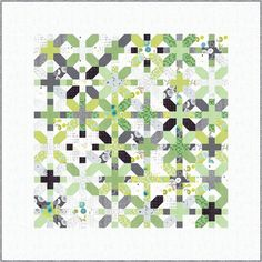 Quilt pattern X and Plus using the fabric collection Day in Paris by Zen Chic Beginner Quilt Patterns, Quilting For Beginners, Quilt Tutorials, Fall Quilts, Scrappy Quilts, Strip Quilts, Mini Quilts, Quilting Projects, Quilting Designs