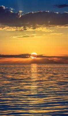 Sunset Over The World - Caribbean Sunset