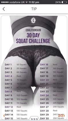The SQUAT challenge Everybody loves a good challenge it makes your push harder and get results quicker than what you…