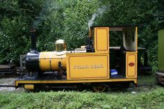 "Bagnall 2-4-0T 1781/1905 ""Polar Bear"". Originally from the Groudle Glen Railway on the Isle of Man where her sister loco, Sea Lion, still operates."