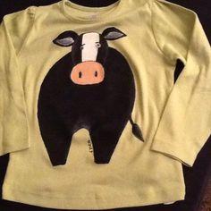 camisola de criança pintada à mão