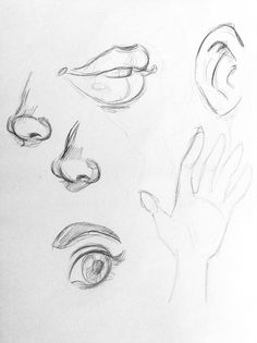 Few sketches I made with @loish mini tutorials on Facebook to practice. I love her sketch style.
