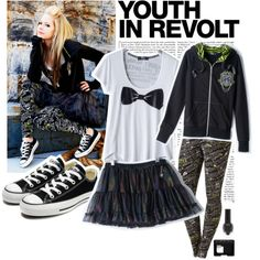 Avril Lavigne outfit