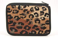 SZ123 Leopard Coin Purse Stitch & Zip Kit | Alice Peterson Company | www.stitchandzipkits.com