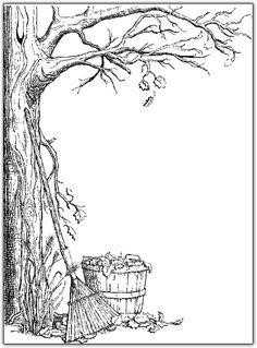 Fall Tree Coloring Page Fresh Tree Adults and Teens Coloring Pages Fall Coloring Pages, Tree Coloring Page, Printable Coloring Pages, Coloring Pages For Kids, Coloring Sheets, Coloring Books, Kids Coloring, Digi Stamps, Autumn Trees