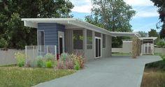 บ้านประกอบทรงตู้คอนเทนเนอร์ ความเรียบง่ายในขนาดกระทัดรัด ที่ไม่ต้องสนใจเรื่องภูมิประเทศ   NaiBann.com