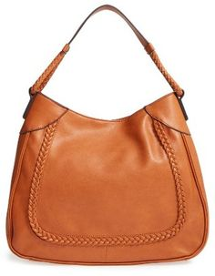 Sole Society Rema Faux Leather Shoulder Bag - Brown #handbags