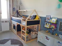 Ikea Bunk Bed Hack for Kids Bedroom Kura bed hack