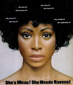 1975 Natural Hair Ad...lol