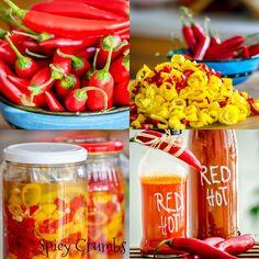 Chilli omáčka z fermentovaných papriček - Spicy Crumbs